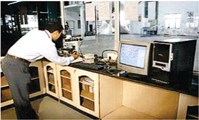 Image Analyser & Metalurgical Microscope