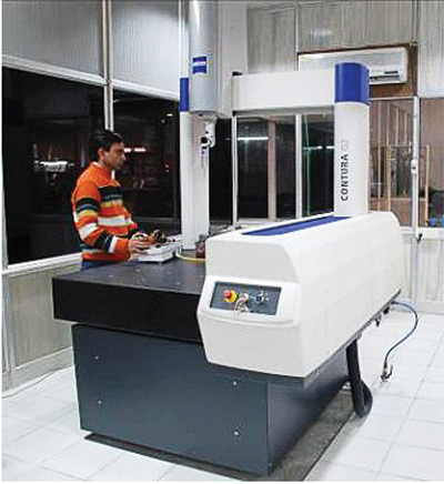 Co-ordinate Measuring Machine (CMM)